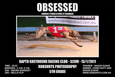Dapto_130111_Race07_Obsessed