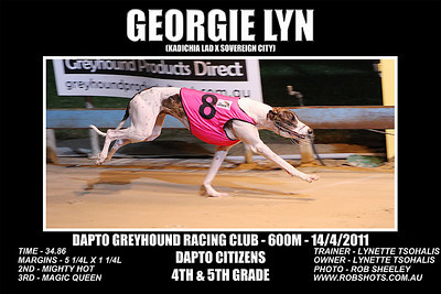 Dapto_140311_Race07_Georgie_Lyn