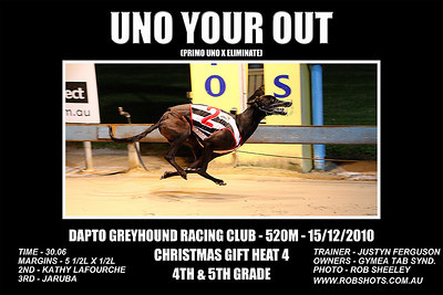 Dapto_151210_Race08_Uno_Your_Out