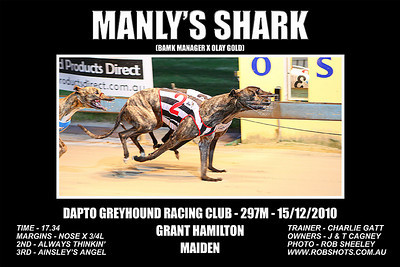 Dapto_151210_Race04_Manlys_Shark