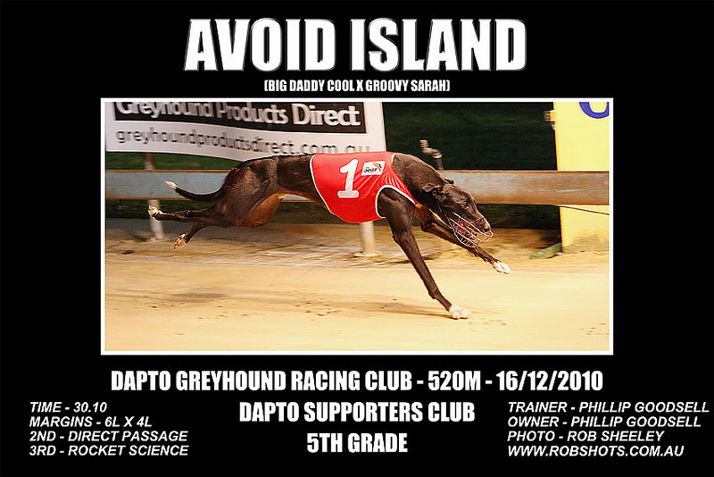 Dapto_161210_Race07_Avoid_Island
