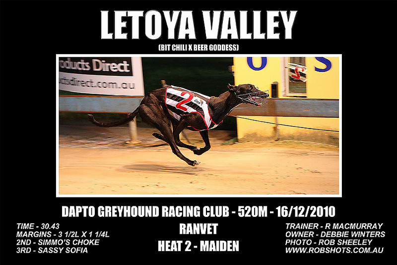 Dapto_161210_Race03_Letoya_Valley
