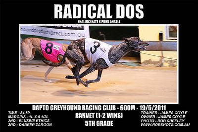 Dapto_190511_Race02_Radical_Dos