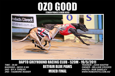 Dapto_190511_Race01_Ozo_Good