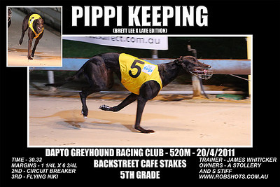 Dapto_200411_Race08_Pippi_Keeping