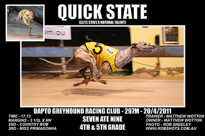 Dapto_200411_Race07_Quick_State