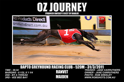 Dapto_310311_Race01_Oz_Journey
