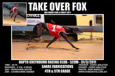 Dapto_310311_Race08_Take_Over_Fox