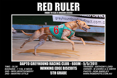 Dapto_050511_Race08_Red_Ruler