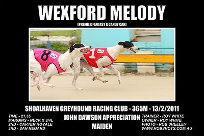 Nowra_130211_Race04_Wexford_Melody