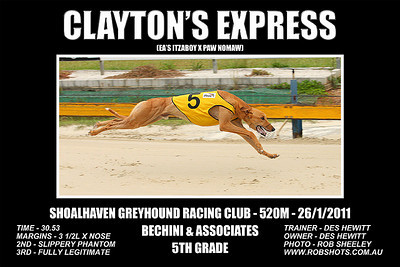 Nowra_260111_Race08_Claytons_Express