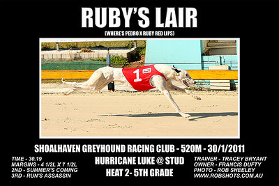 Nowra_300111_Race08_Rubys_Lair
