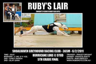 Nowra_060211_Race06_Ruby's_Lair