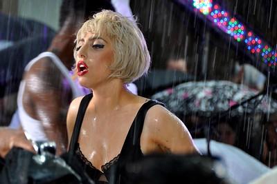 LADY GAGA==  Performing Live at NBC's TODAY Show==  Summer Concert Series== Rockefeller Center, NYC==  © Patrick McMullan Company== Friday, July 9, 2010== Photo- Lukas Greyson / Patrick McMullan.com== ==