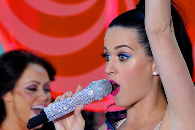 KATY PERRY== KATY PERRY Performing Live at NBC's TODAY Show Summer Concert Series== Rockefeller Center, NYC== August 27, 2010== © Patrick McMullan Company== Photo- Lukas Greyson / Patrick McMullan.com== ==