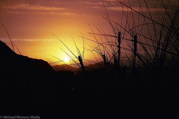 Sunset in New Zeland