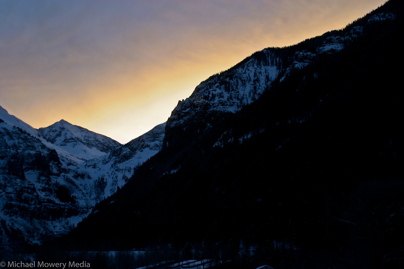 Morning Alpen Glow