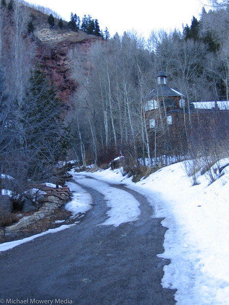 Start of the Jud Wiebe Trail from the Aspen Road Side.