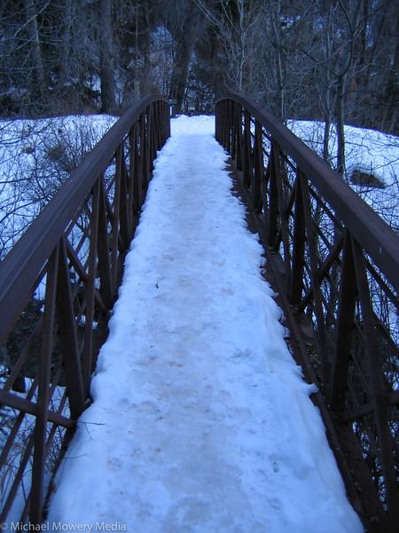 Bridge at the Bottom of Cornet Creek