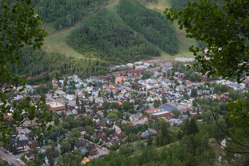 Telluride from the Jud