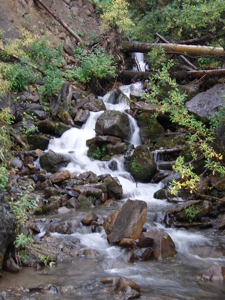 Creek following down from Mountain Village