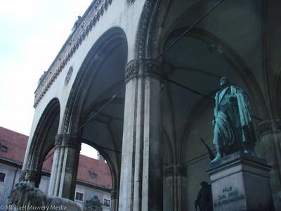 Odeons Platz where Hitler made many of his speaches