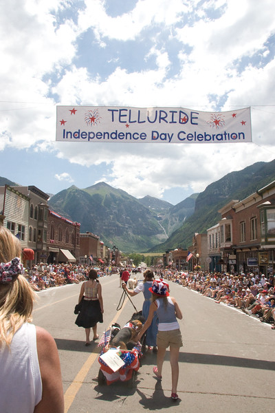 Telluride 4th of July Parade 2007