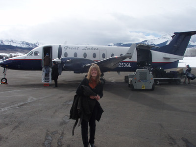Flying out of Telluride