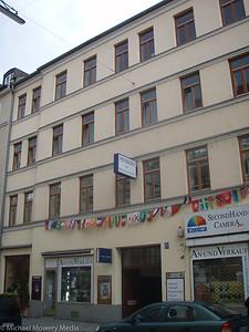 Garnerplatz Pension where we stayed the first night