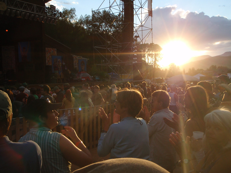 Sunday evening at the Festival