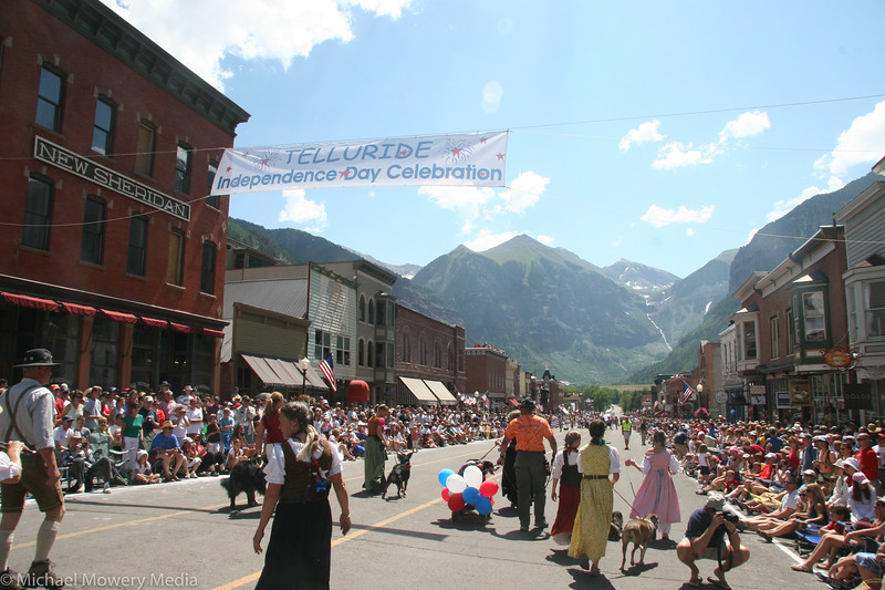Telluride 4th of July Parade 2008