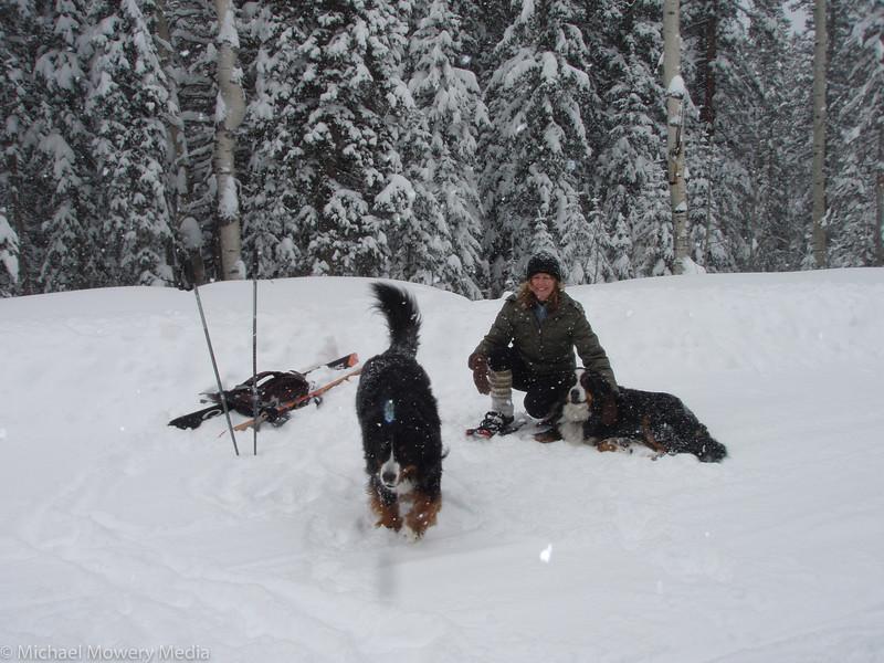 Reached Marmot Ski Run