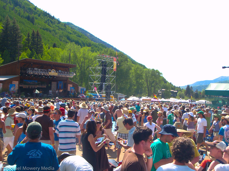 Saturday daytime at the Festival