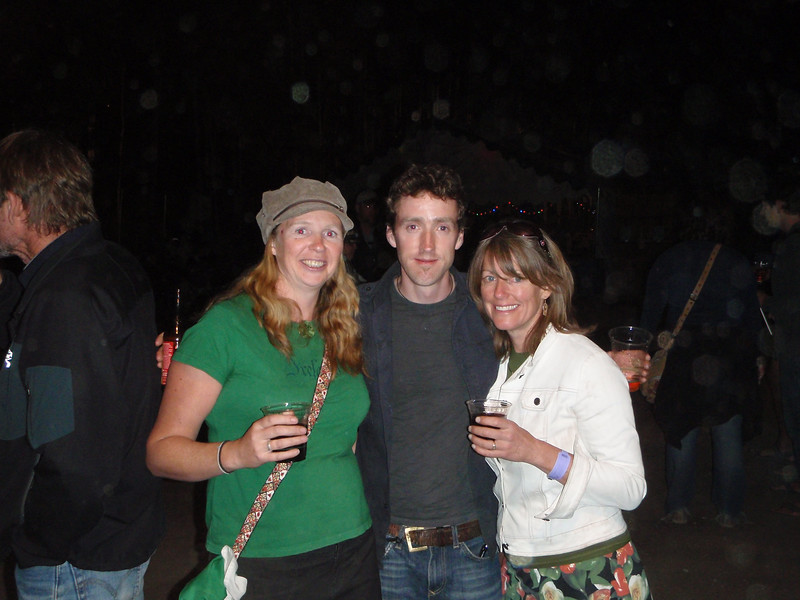 Marie, Colm Mac Con Iomaire, and Mary Dawn