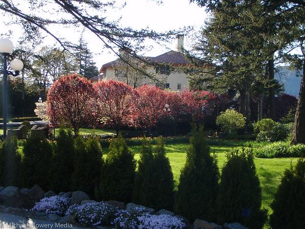 Columbia Gorge Hotel Garden