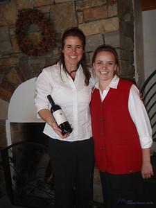 Waitress at Alpino Vino