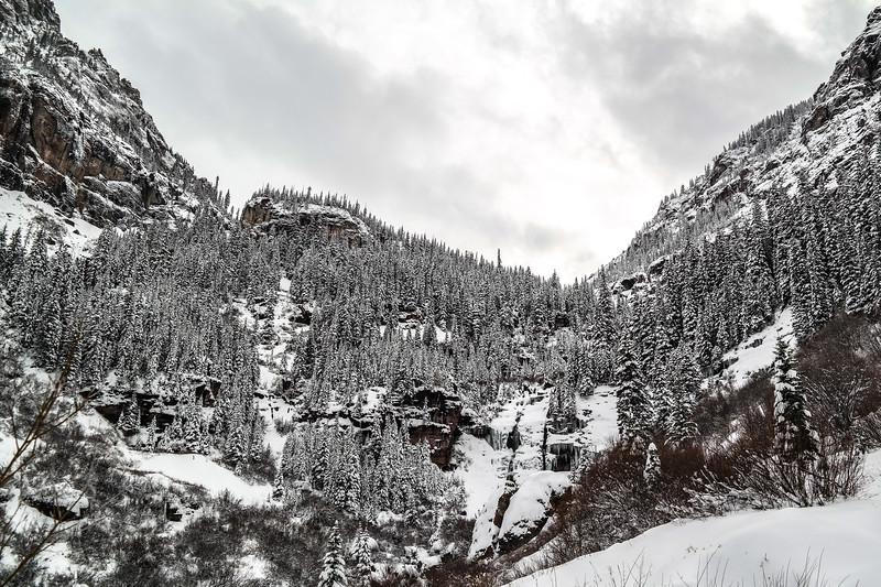 Bear Creek Falls in November
