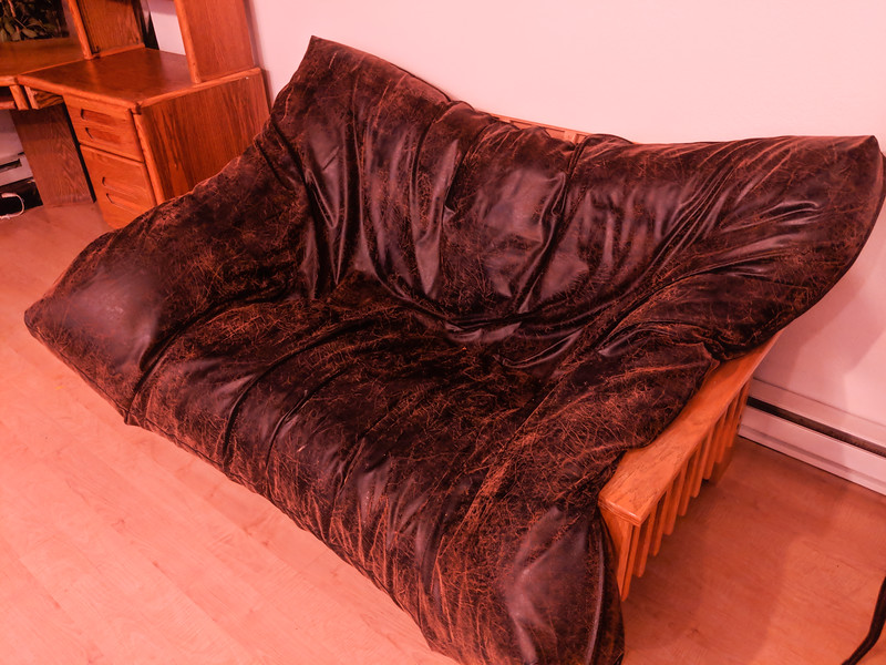 Futon as couch