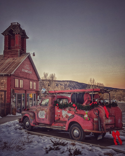 #photooftheday #day14 #ridgway #firedepartment
