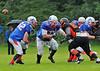 26 July 2015 at Lochinch, Glasgow.<br />  BAFACL Division 2 match, Glasgow Tigers v West Coast Trojans