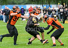 2 July 2017 at Beltane Park, Wishaw. BAFA Division 2 American Football. Clyde Valley Blackhawks v Glasgow Tigers