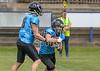 10 June 2017 at Meggetland, Edinburgh. BAFA National Premier Division North match. Edinburgh Wolve v Sheffield Giants