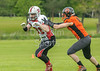 21 May 2017 at Lochinch, Glasgow. American Football Division 2 North match - Glasgow Tigers v Aberdeen Roughnecks