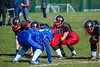 25 March 2016 at Queensferry Rugby Club. BAFA American Football Sapphire Women's Series, Round 3. <br /> East Kilbride Pirates v Manchester Titans
