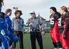 25 February 2016 at Crownpoint, Glasgow. BAFA American Football Sapphire Women's Series, Round 1. <br /> East Kilbride Pirates v Manchester Titans