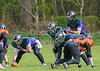 23 April 2017 at Lochinch. BAFA NFC 2 North match - Glasgow Tigers v Dumfries Hunters