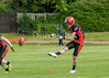 3 June 2017 at Meggetland. BAFA National Premier Division North match, Edinburgh Wolves v Merseyside Nighthawks