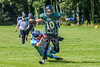 25 August 2018 at Parklea Playing Fields, Port Glasgow. Inverclyde Goliaths v Highland Stags