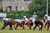 12 June 2016 at Nethercraigs, Glasgow.BAFA Premier Northern Division 2 North match. Glasgow Tigers v Aberdeen Roughnecks