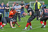 8 May 2016 at Lochinch, Glasgow. BAFA Premier Northern Division 2 North match, Glasgow Tigers v Newcastle Vikings